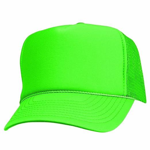 2 Packs NEON Baseball Caps Blank Trucker Hats Summer Mesh Bachelorette Capl  (2 FOR Price 204c97e772d