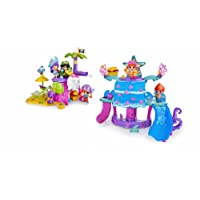 Pinypon - 700013641 - Mini Poupée - Coffret L'Île Magique des Pirates et des Sirènes + 2 Figurines