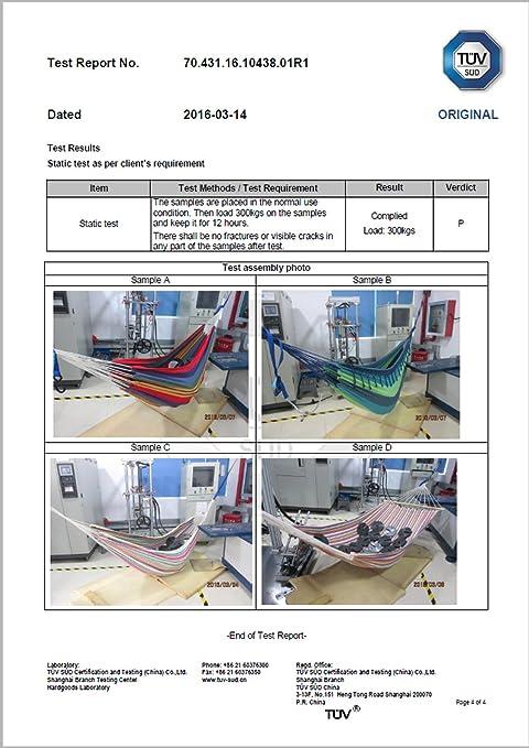 amaca per pi/ù persone amache a barra Kronenburg diversi modelli sedie e materiale di fissaggio colori e dimensioni