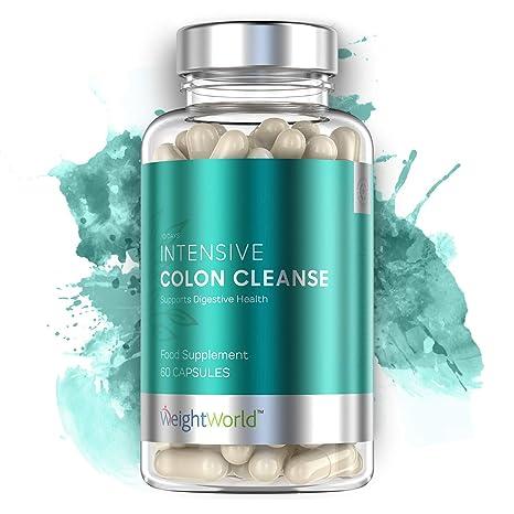 Limpiador De Colon 100% Natural Colon Cleanse Intensive - Tratamiento Detox Para Purificar El Organismo