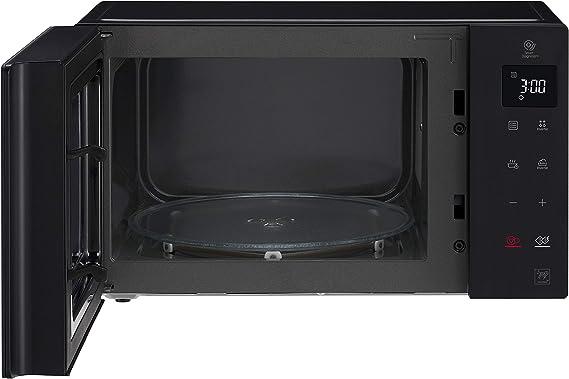 LG MH6535GIB Microondas Grill Smart Inverter Microondas 1000 W, Grill 900 W, Micro+Grill 1450 W, 25 litros de capacidad, Display LED, Plato interior ...