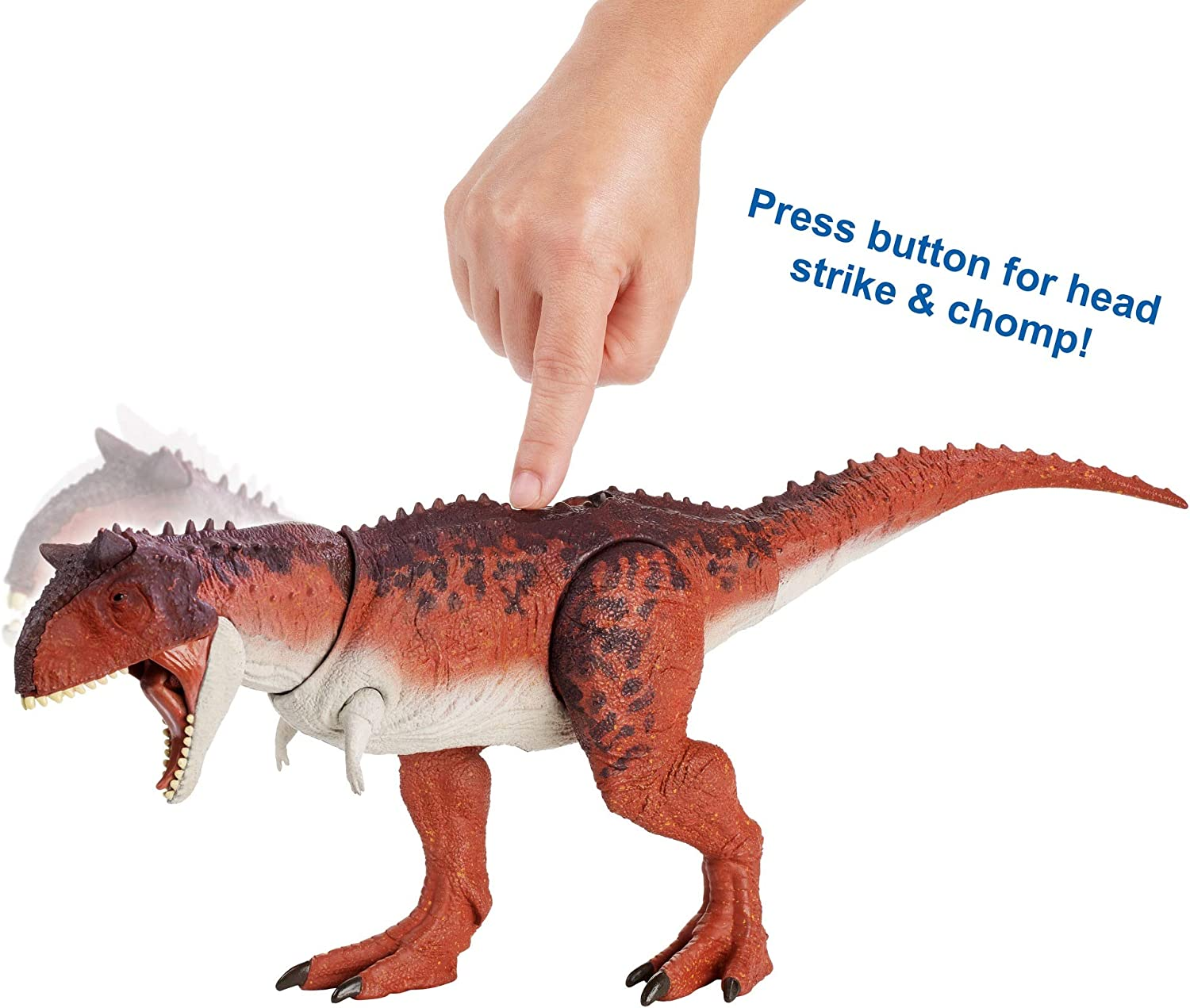 Amazon Com Jurassic World Action Attack Carnotaurus Toys Games Прохождение 16 дек 2017 в 16:48. jurassic world action attack carnotaurus