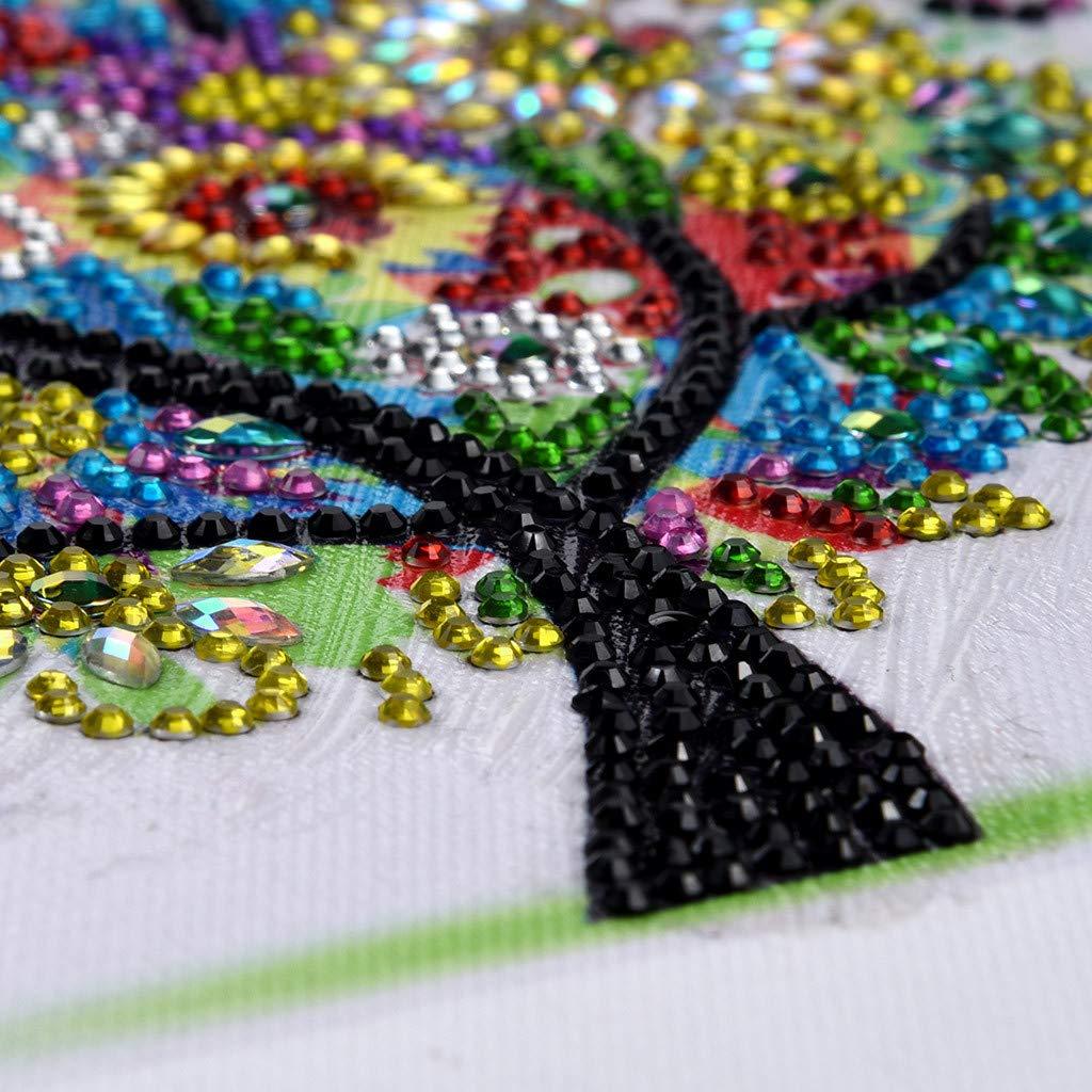 Diamond Painting Paysage DIY Diamond Painting Forage Plein de Diamantsen Diamant DIY 5D Diamant Peinture Belle Fleur D/écoration Murale Peinture D/écoration Salon Chambre