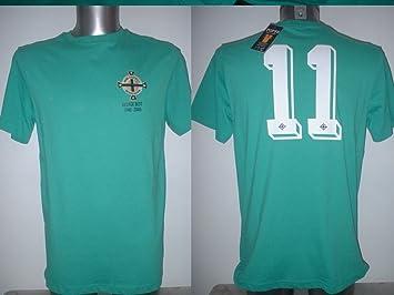 super popular 6e790 62b42 Northern Ireland George Best Retro Shirt Jersey BNWT Adult Medium Football  Maglia Toffs Manchester United New