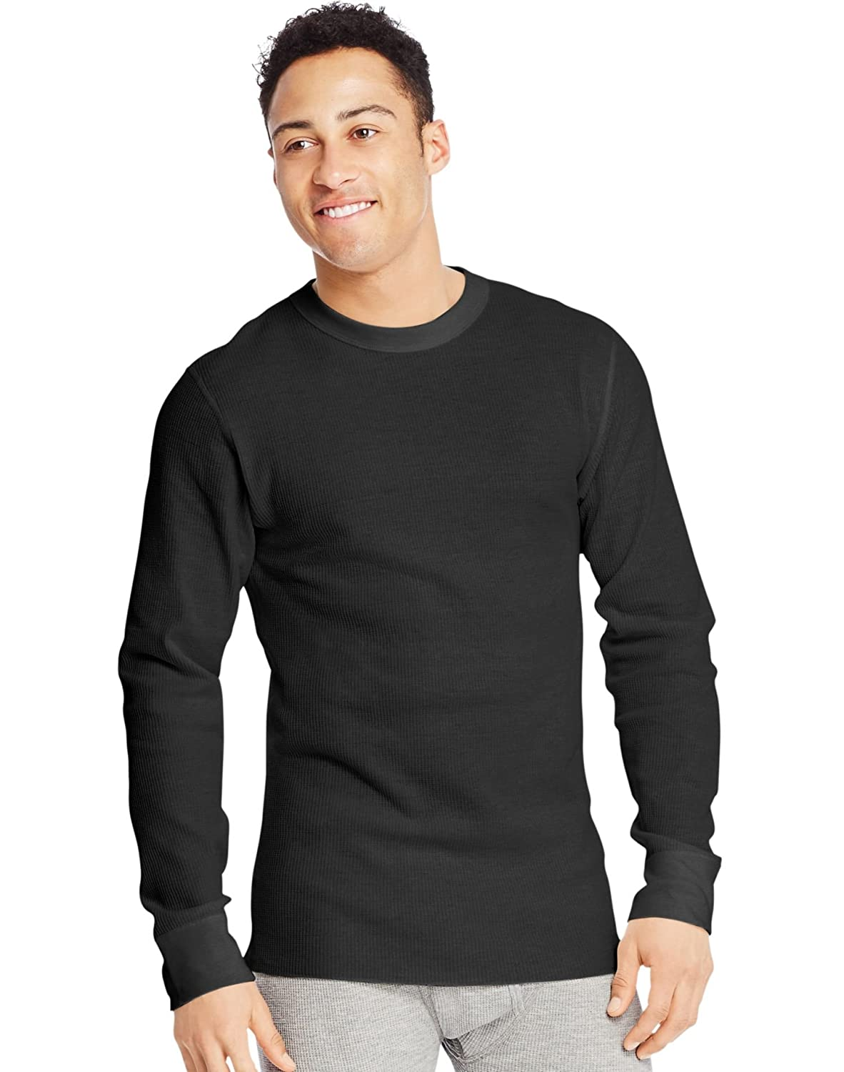 Hanes Mens UltimateTM X Temp Organic Cotton Tall Long Sleeve Crewneck Thermal 28580