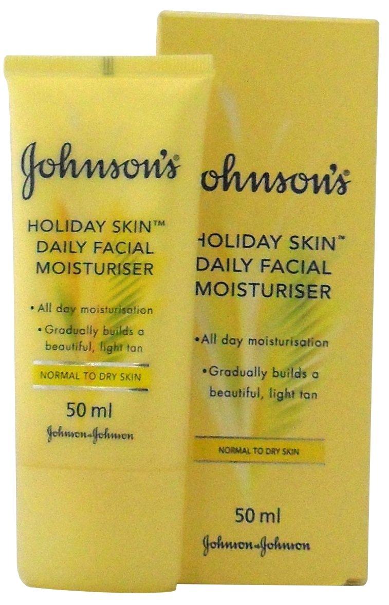 Johnson's Holiday Skin Daily Facial Moisturiser 50ml