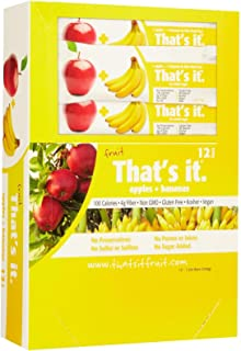 product image for That's It Fruit Bars - Apple & Banana - 1.2 OZ - 12 ct