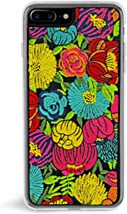 Zero Gravity iPhone 7 Plus / 8 Plus Bright Phone Case - 360° Protection, Drop Test Approved - Floral Pattern