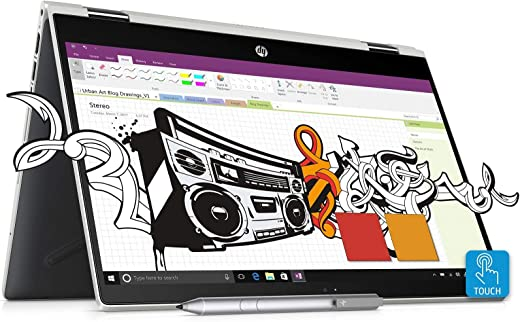 HP Pavilion x360 Core i5 8th Gen 14-inch Touchscreen 2-in-1...