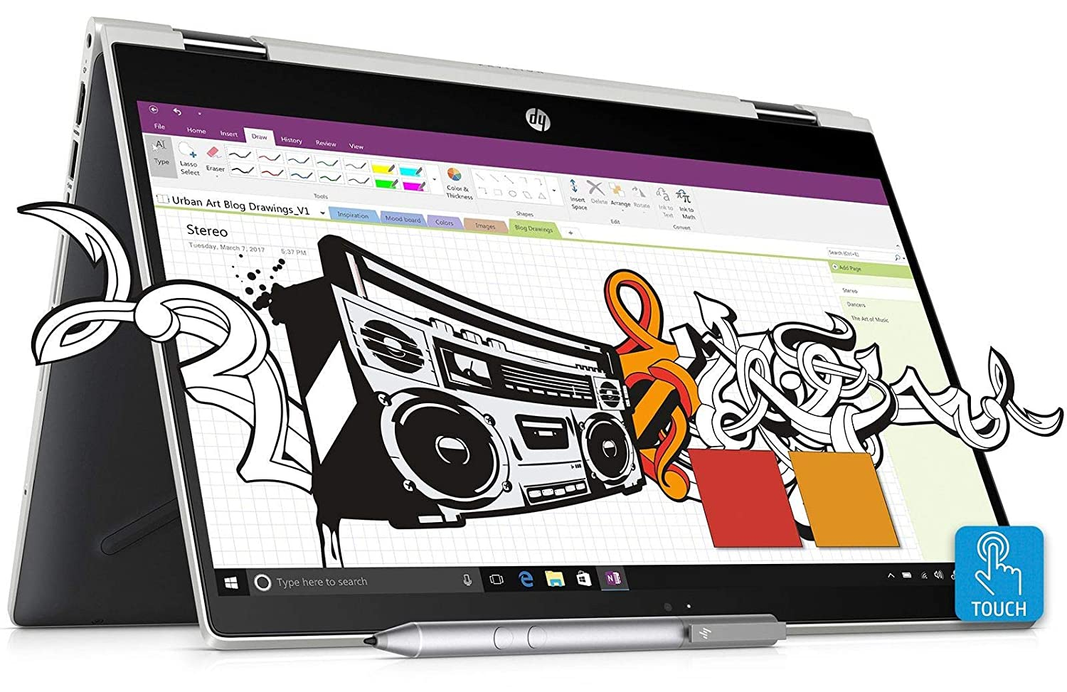 HP Pavilion x360 Core i5 8th Gen 14-inch Touchscreen 2-in-1 FHD Laptop