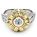 Amazon Price History for:Wensltd Clearance! 2-in-1 Womens Vintage White Diamond Silver Engagement Wedding Band Ring Set