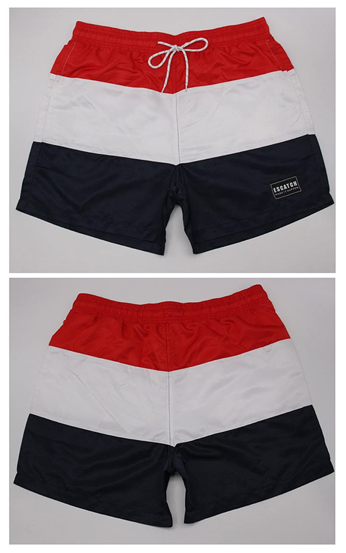 ES 40-46 ESCATCH Pantalones Verano Playa para Hombres Ba/ñador de Nataci/ón Pantal/ón Corto de Estampados Ropa de Ba/ño de Tallas Grandes para Hombre