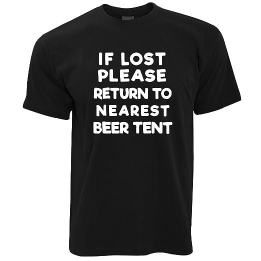 Tim And Ted Wenn Verloren Return to Bierzelt Festival Sommer Trinken Party  Banter Herren T-Shirt: Amazon.de: Bekleidung