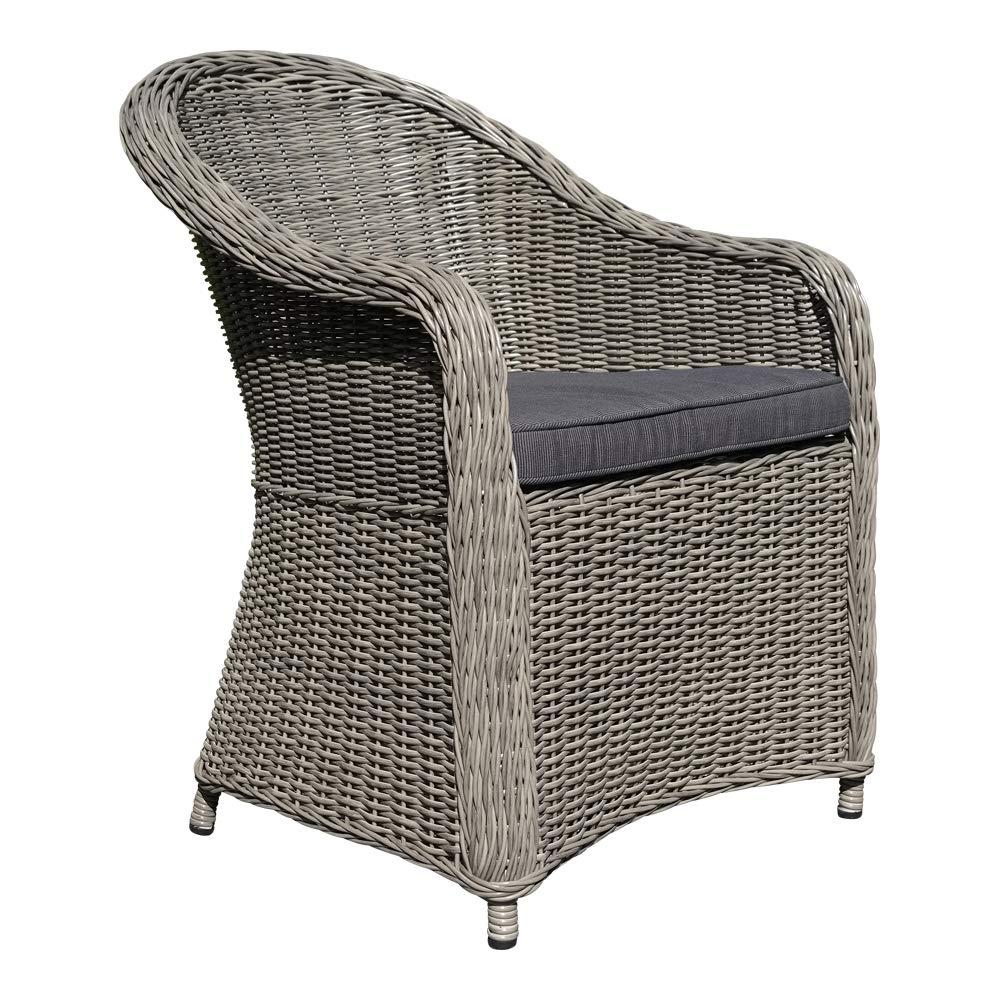 Dasmöbelwerk Polyrattan Stuhl Mit Sitzpolstern Rattan Relax Stuhl
