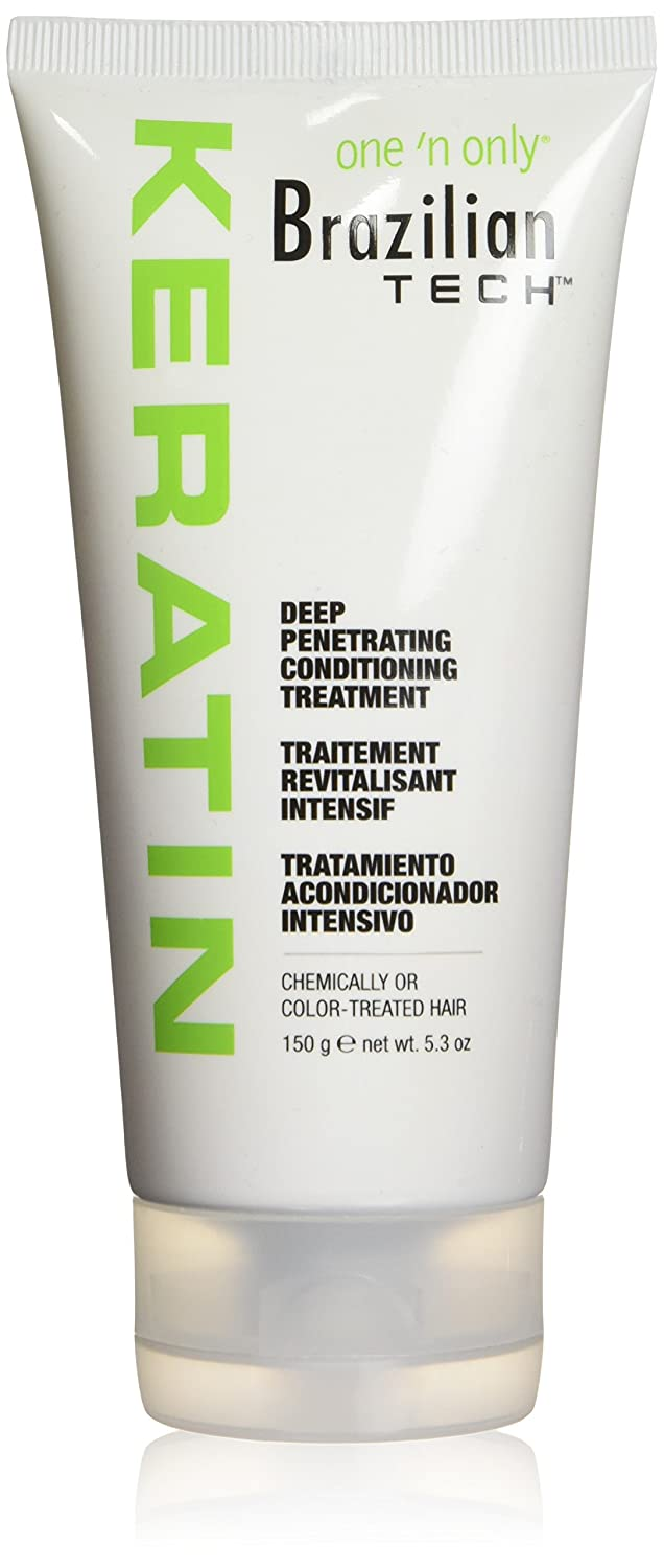 One 'n Only Brazilian Tech Keratin Deep Penetrating Conditioning Treatment 5.3-Ounce, 1 Count One ' n Only one-0421