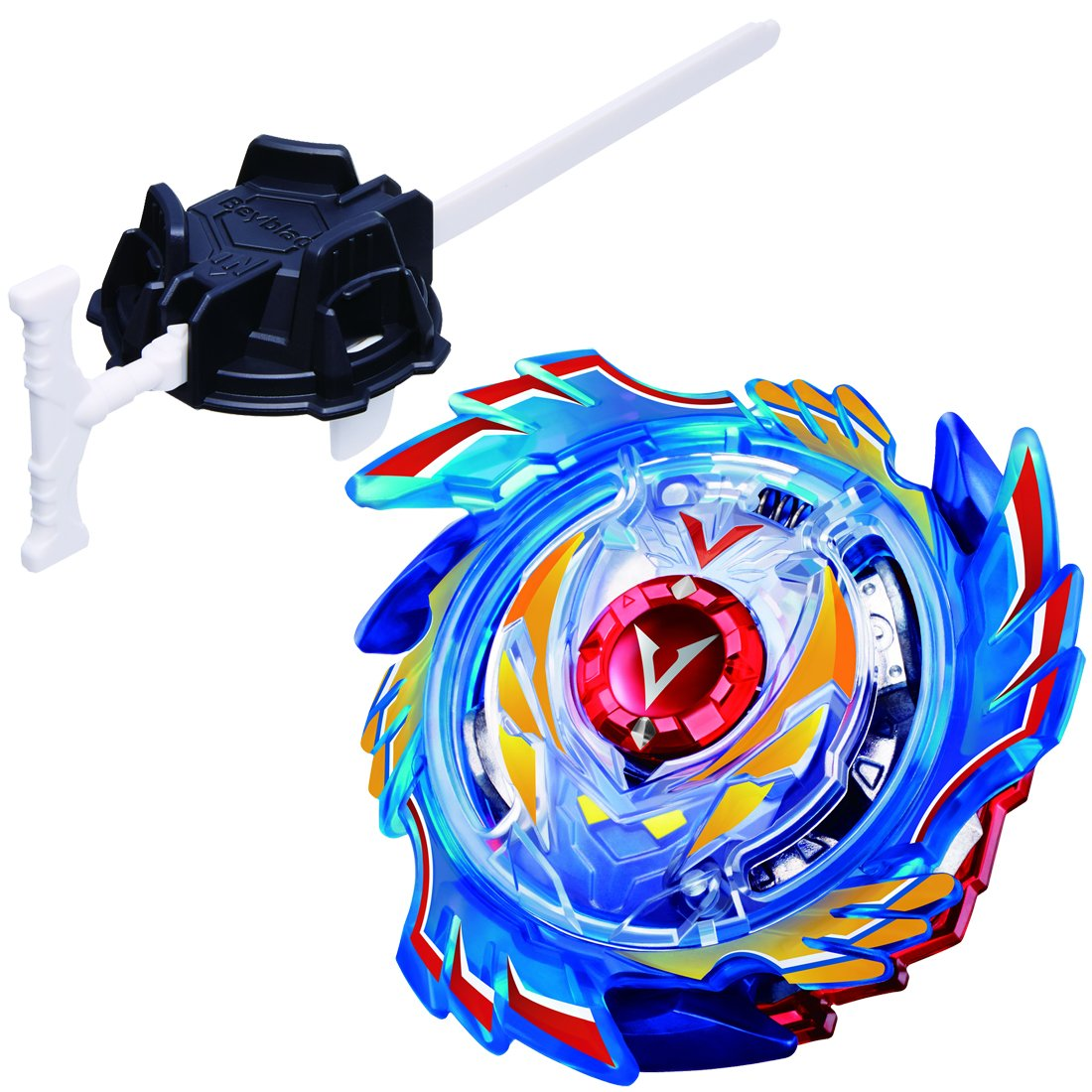 Takaratomy Beyblade Burst B-73 God Valkyrie.6V.Rb Starter Pack with  Launcher Spinning Top  Amazon.com.au  Toys   Games ac1dbda5ac