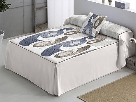 Camatex ines trapunta per letto da 90 cm colore: lilla biancheria