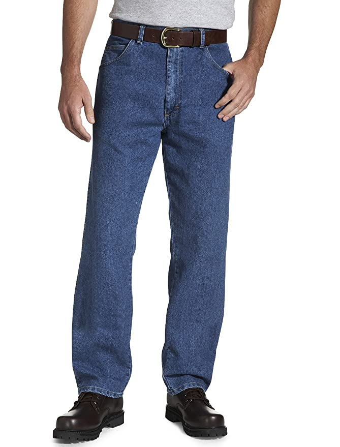 Amazon.com: Wrangler pantalones vaqueros elásticos ajustados ...
