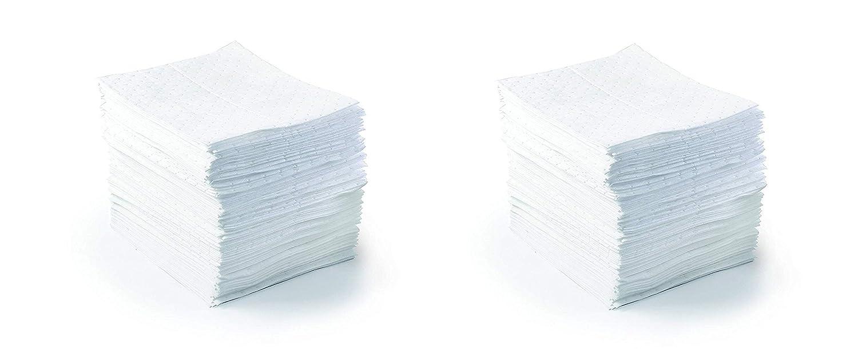 SPC BPO500 BASIC 17 Length 100 Per Bale 15 Width White Color Oil Only Light Weight Pad