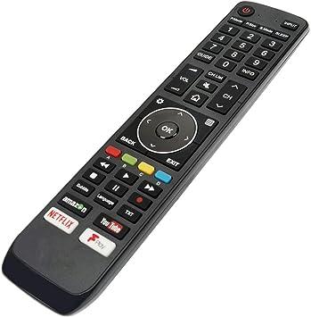 Mando a Distancia de Repuesto Compatible para Hisense H49N5700 49 Inch 4K Ultra HD Smart televisión con HDR: Amazon.es: Electrónica