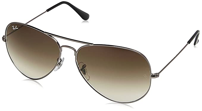 2dffee94c8549 Image Unavailable. Image not available for. Colour  Ray-Ban Gradient Aviator  Men s Sunglasses ...