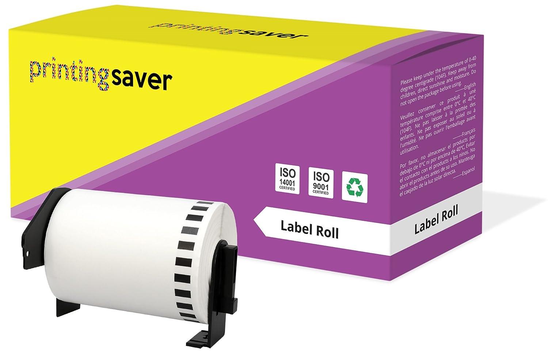 5 Rollen DK22243 DK-22243 102mm x 30.48m Endlos-Etiketten kompatibel f/ür Brother P-Touch QL-1050 QL-1050N QL-1060N QL-1100 QL-1110NWB