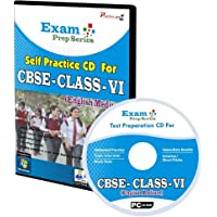 Exam Prep CD For Class 6 - Maths, Science & English Combo [CD-ROM]