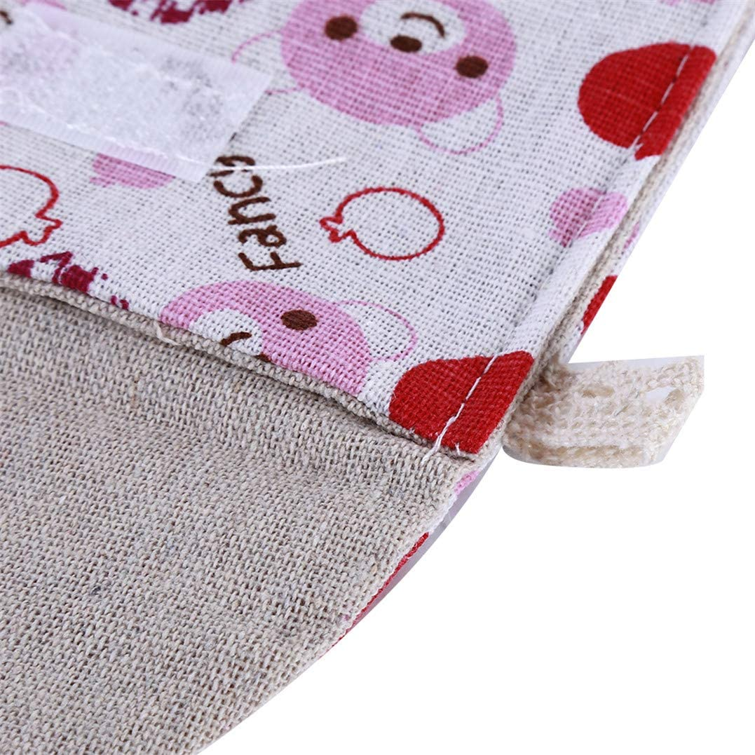 Ours Rose Weryffe Portable Serviettes Hygi/éniques Sac Mignon Imprim/é Menstruel Tasse Titulaire Pad Retrait Pochette Organisateur pour Femmes