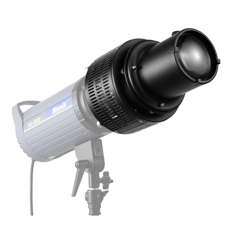 Meking 写真撮影 ストロボ/フラッシュ/スピードライト用 スヌート カラーフィルターキット付き 光束を集め   B077XQBRV8