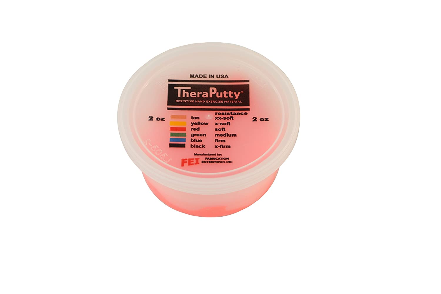 Cando - 256675 TheraPutty Plus Anti-Microbial, Red: Soft, 2 oz: Industrial & Scientific