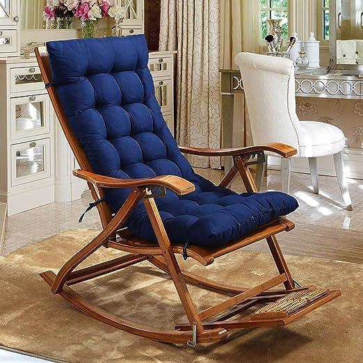SN Cojín para sillas Tumbona Almohadillas Cojines Antideslizantes Jardín Portátil Acolchado Colchoneta (Silla No Incluida) (Color : B): Amazon.es: Hogar