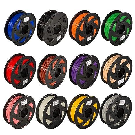 Plumas de Impresión 12 Colores Impresora 3D Accesorios de ...