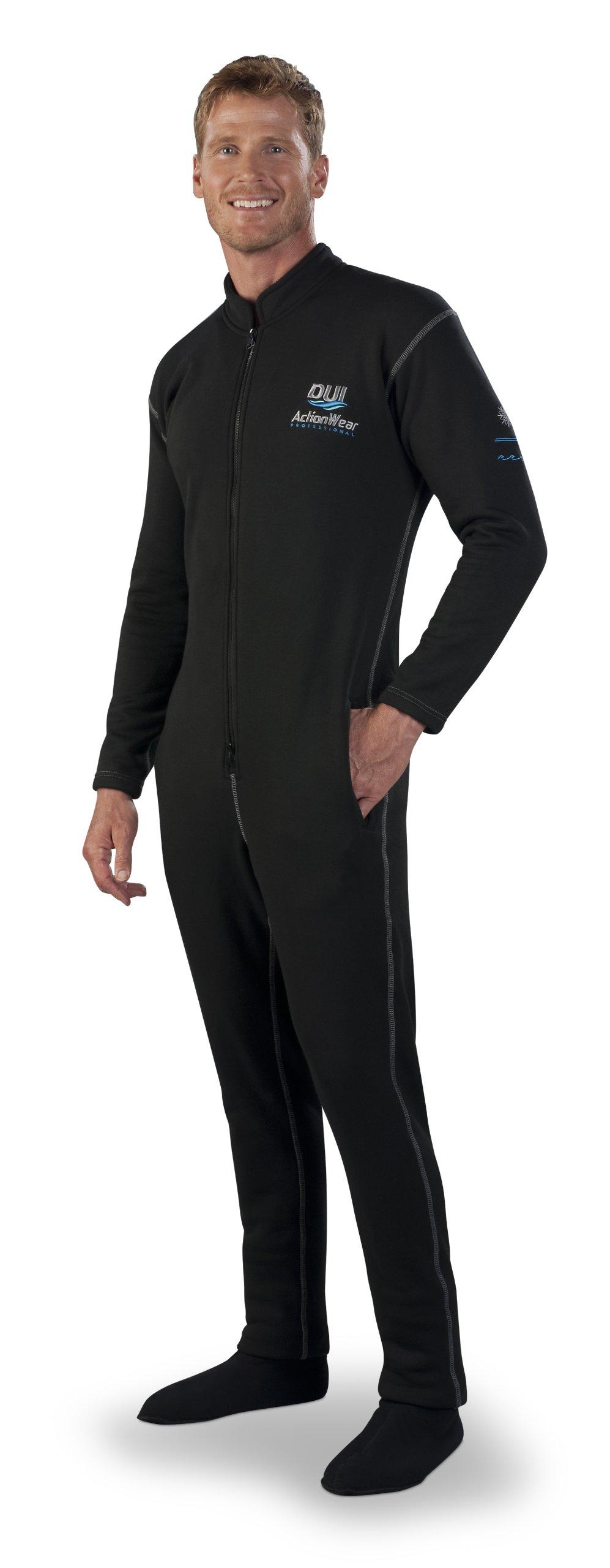 Diving Unlimited International DUI Actionwear Pro Jumpsuit 150 Drysuit Undergarment - Size X-Small by Diving Unlimited International