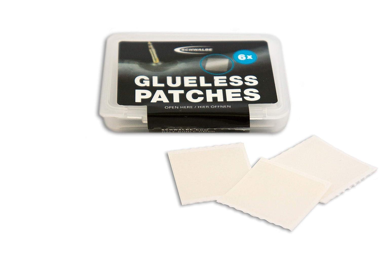 Schwalbe B3900.01 GLUELESS Patches Unisex Adulto 6 Selbstklebende Schlauchflicken Neutro