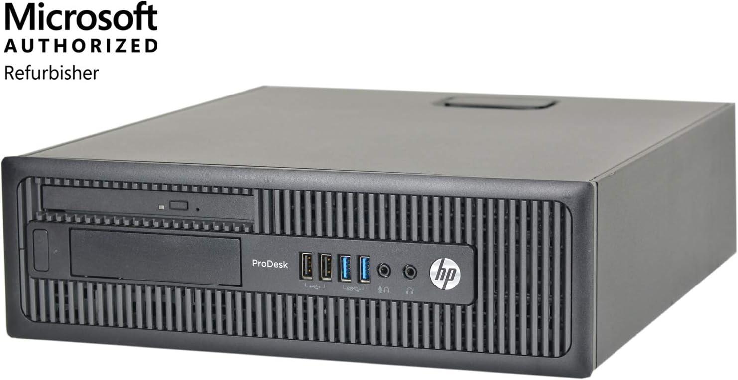 HP ProDesk 600 G1-SFF, Core i7-4770 3.4GHz, 16GB RAM, 480GB Solid State Drive, DVD, Windows 10 Pro 64bit, (Certified Refurbished)