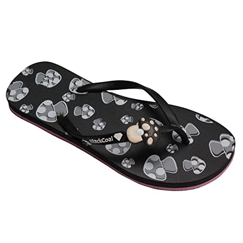 96f7b766 BlackCoal Womens House Slipper Girls Casual Home Flip Flops WFH02 (7  UK/India)