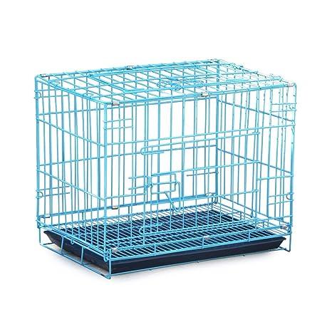 GSS-cage Jaula de Metal Plegable para Mascotas Perro, Jaula de ...