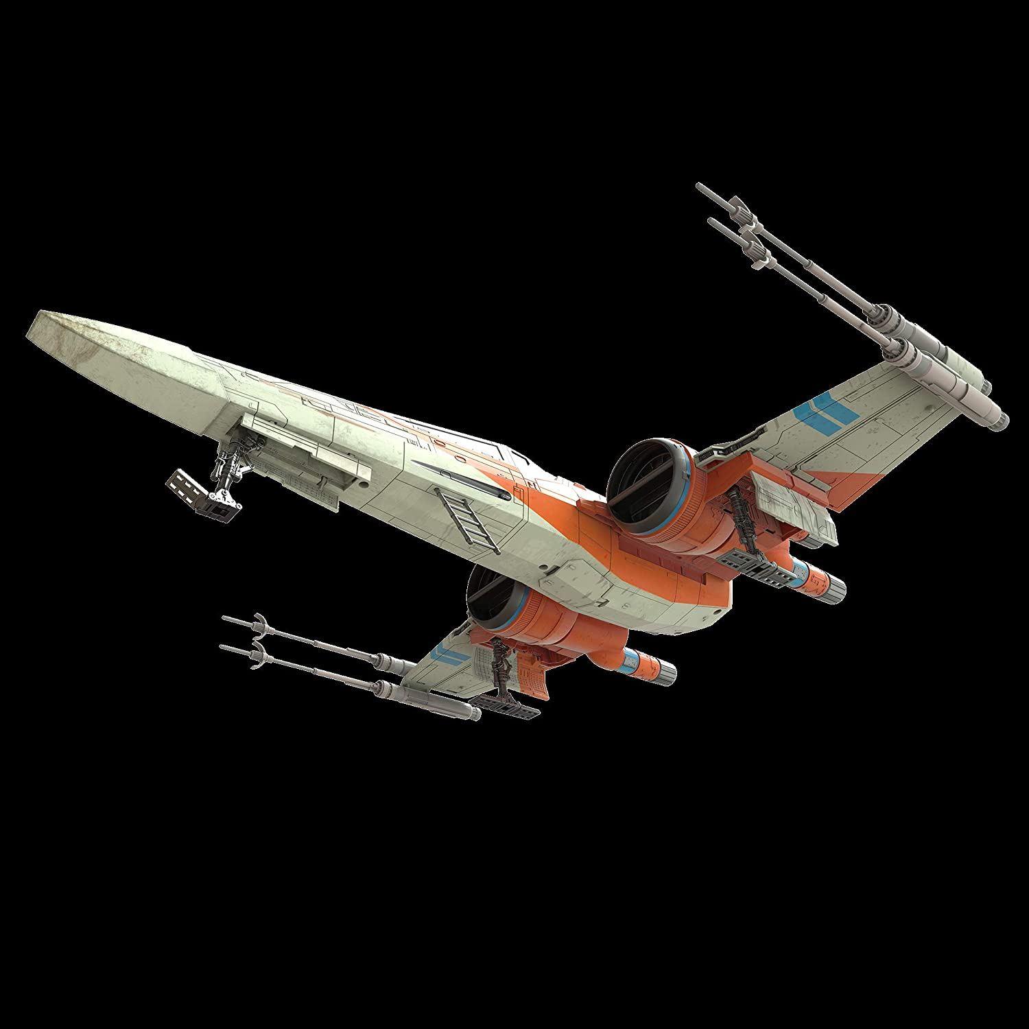 Star Wars The Rise of Skywalker Vintage Collection Poe Dameron's X-Wing Fighter