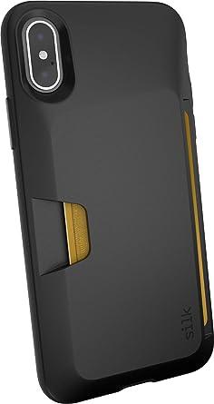 more photos 0c0cc 8bb2c Silk iPhone X/XS Wallet Case - Wallet Slayer Vol. 1 [Slim Protective Vault  Grip Credit Card Cover] - Black Tie Affair
