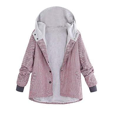 ASHOP Ropa Mujer, 2019 Chaquetas de Mujer Formales para Trabajar en Oficina Abrigos Talla Grande Outwear Sudadera con Capucha: Amazon.es: Ropa y accesorios