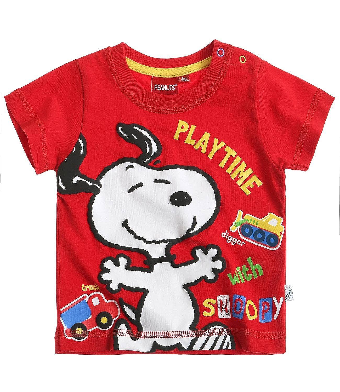 Rot Snoopy Babies T-Shirt 2016 Kollektion