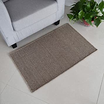 Amazon.de: Teppich Sofa schwarz teppich Rote matte für haushalt ...