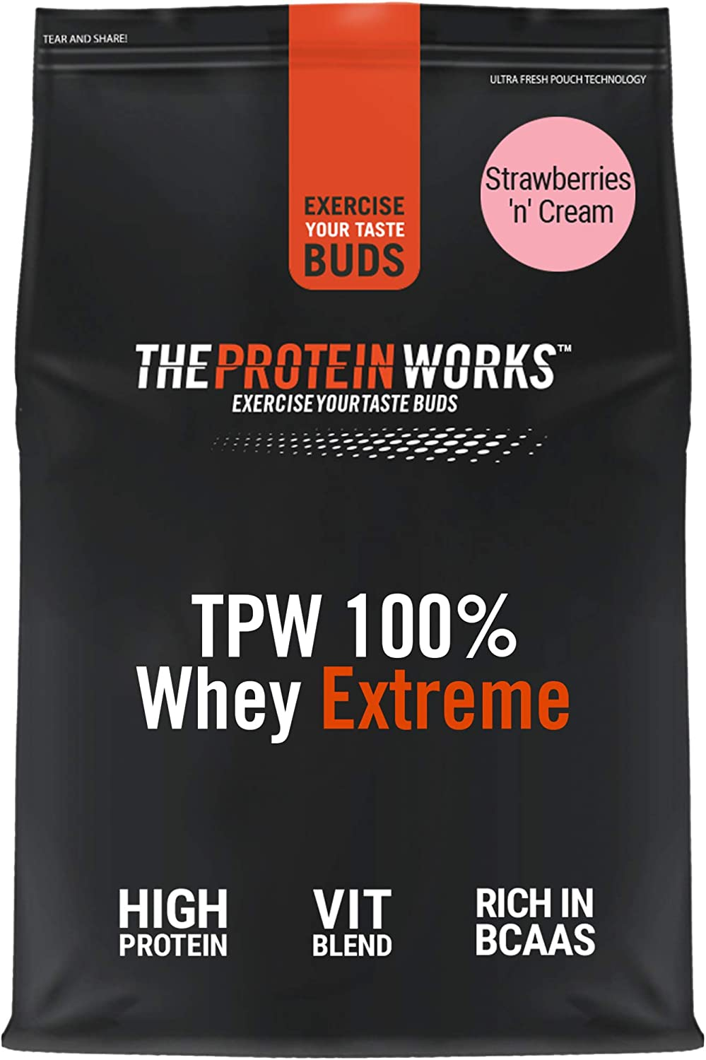 The Protein Works 100% Whey Extreme - 1000 gr