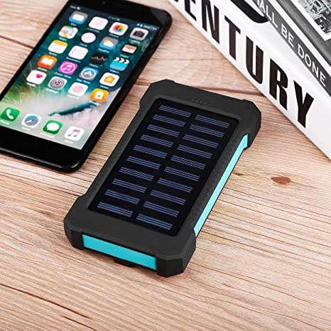 MXECO Waterproof Durable 300000mAh Portable Solar Powered Charger ...