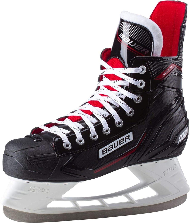 Bauer Complet Xpro Skate, Chaussures de Hockey sur Gazon Homme