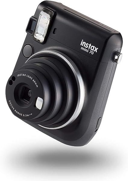 Instax Mini 70 Kamera Mit 10 Aufnahmen Midnight Black Kamera