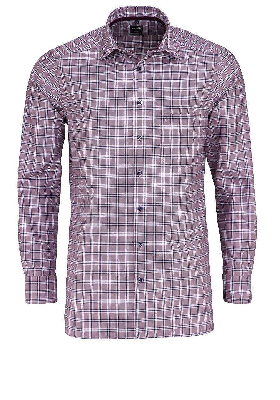 TALLA 42. Olymp - Camisa Formal - Cuadros - para Hombre