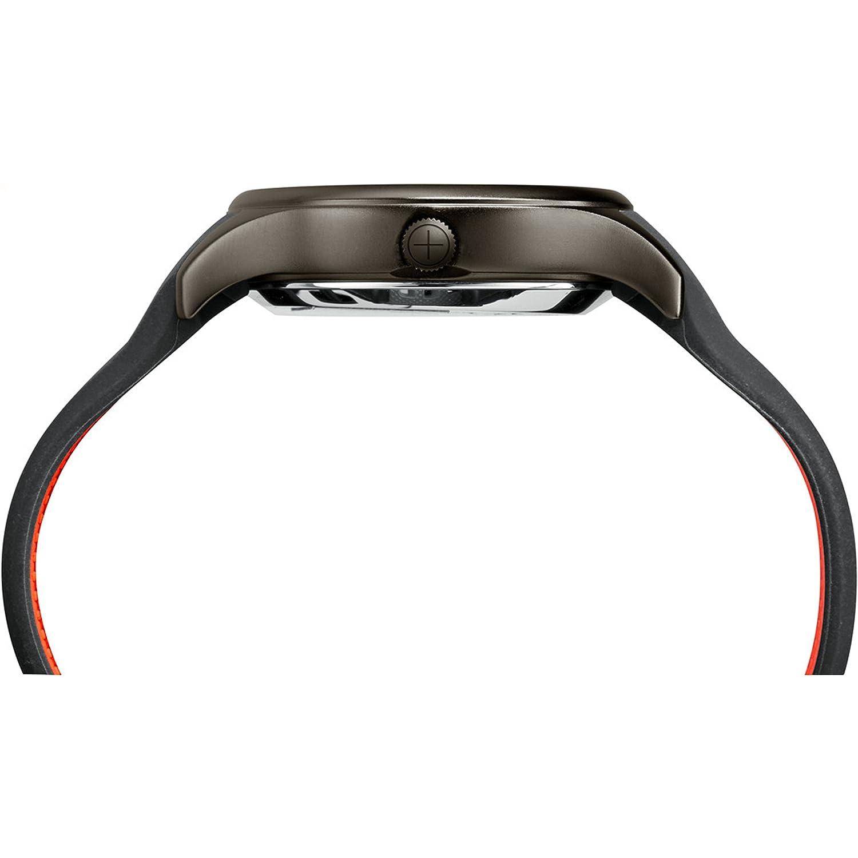 Amazon.com: Timex Mens TW2P95000 IQ+ Move Activity Tracker Gray/Black/Orange Silicone Strap Smart Watch: Watches