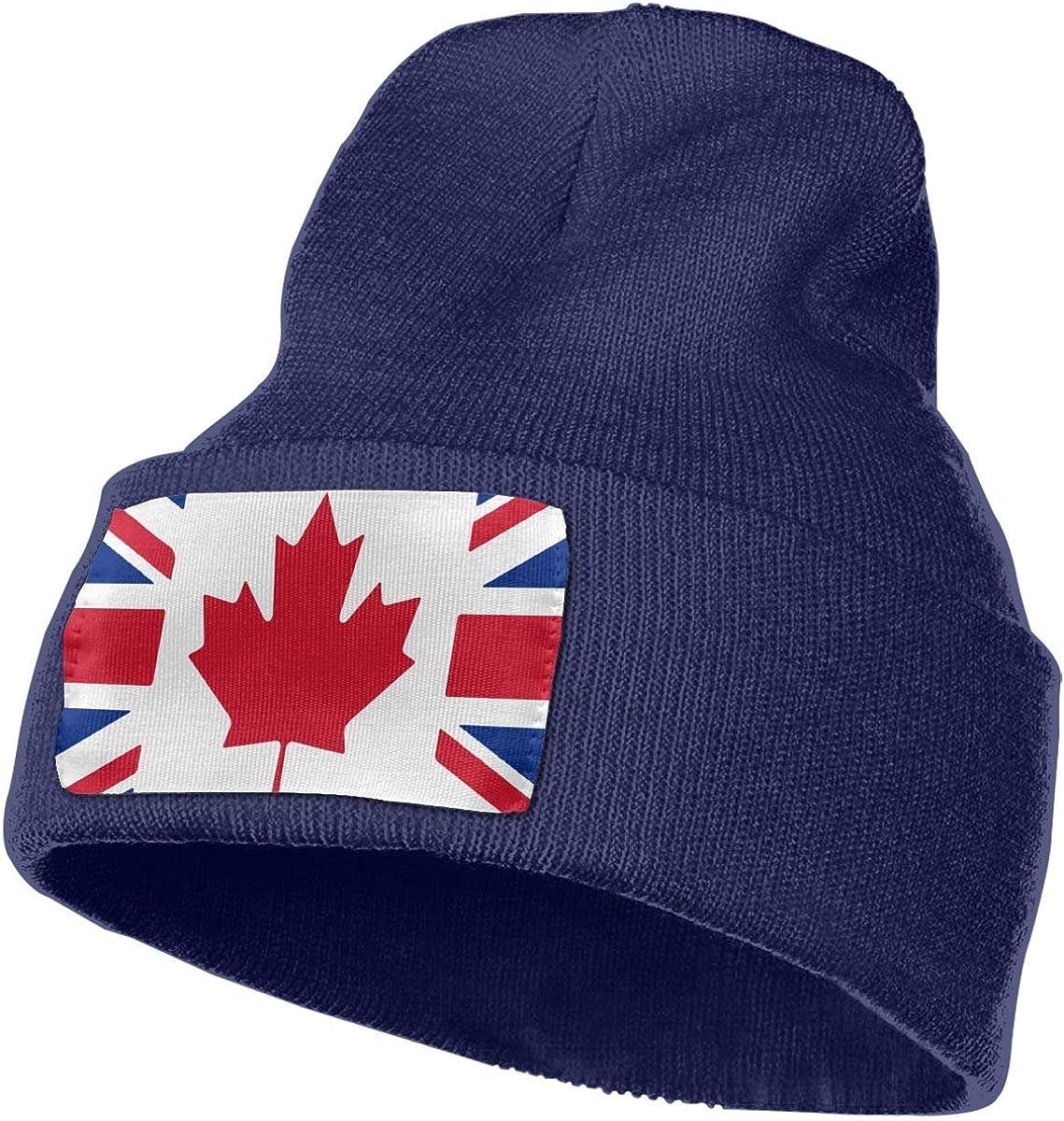 Flag Mashup Women and Men Skull Caps Winter Warm Stretchy Knitting Beanie Hats U.K TAOMAP89 Canada
