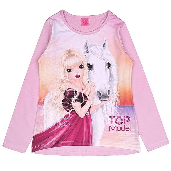 Rosa Top Model M/ädchen Shirt